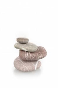 equilibre de pierres