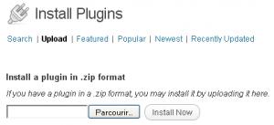 installer un plugin wordpress