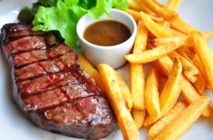 adieu au steak