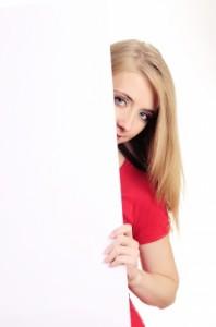 timide se cacher