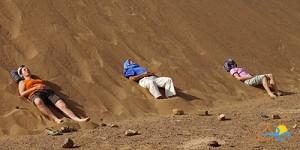 Se relaxer dans le désert