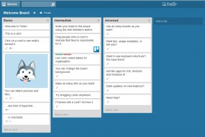 Trello welcome board