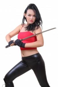 self-défense femme