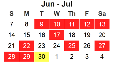 calendrier seinfeld procrastination gestion temps