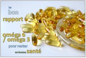 rapport omega 6 omega 3