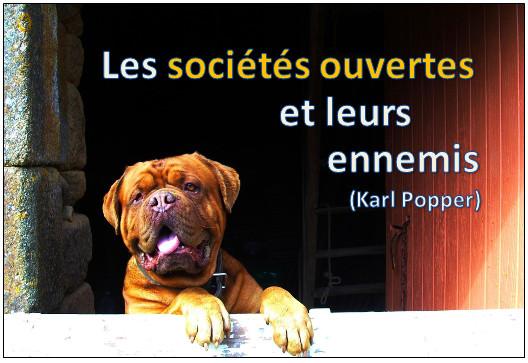 Les sociétés ouvertes et leurs ennemis (Karl Popper)