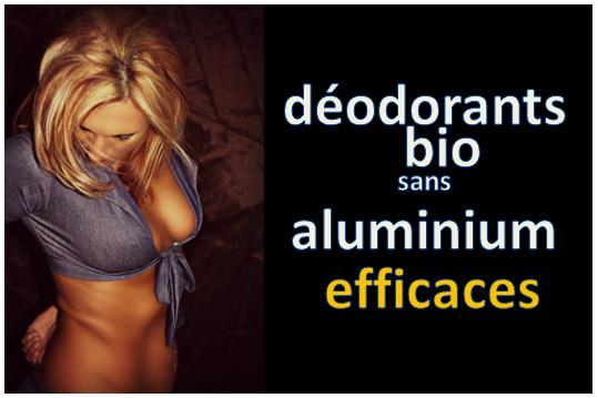deodorant sans aluminium efficace