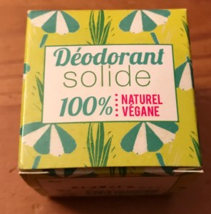 deodorant solide