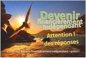 devenir financierement independant point